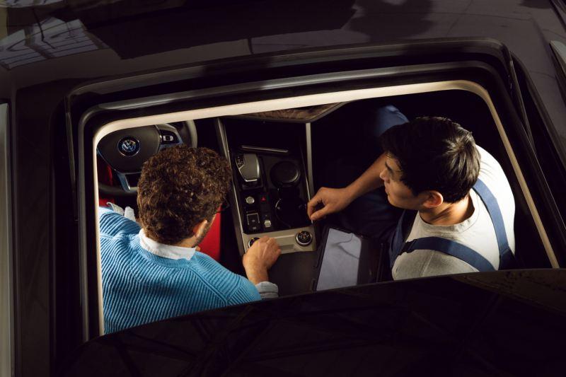 Volkswagen 車輛安全檢查