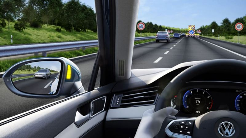 Side Assist assistentsystem Volkswagen Passat stasjonsvogn