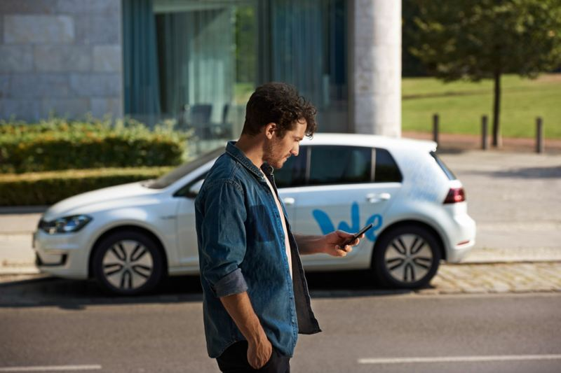 Car sharing with We Share from Volkswagen