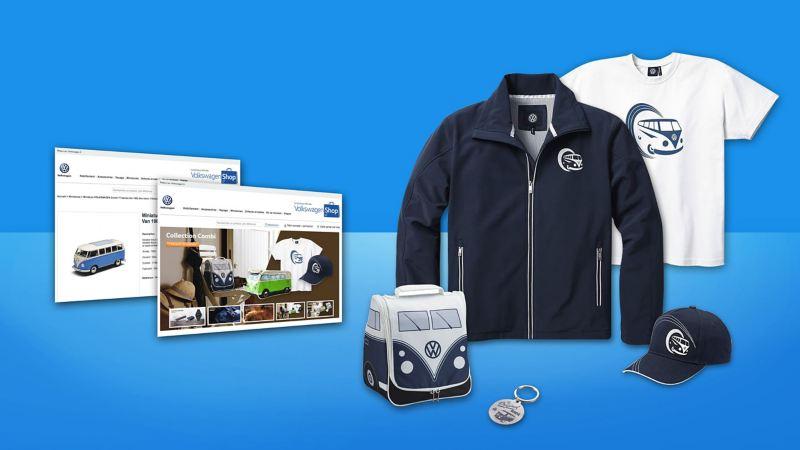 Boutique en ligne des accessoires Lifestyle Volkswagen.