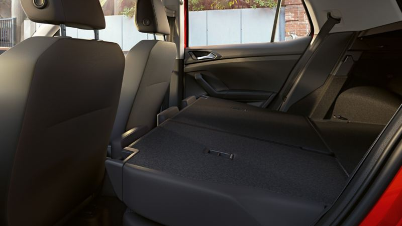 Bakseter og god plass i Volkswagen T-Cross
