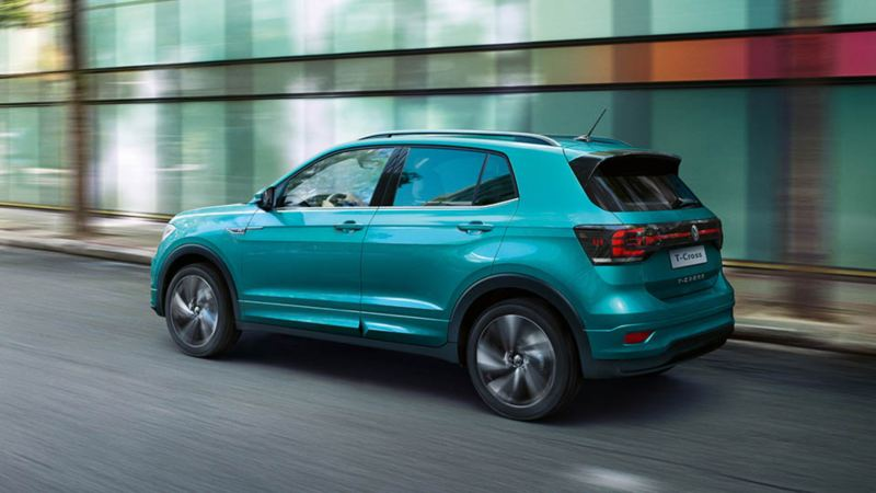 T-Cross. SUV dal look inconfondibile.