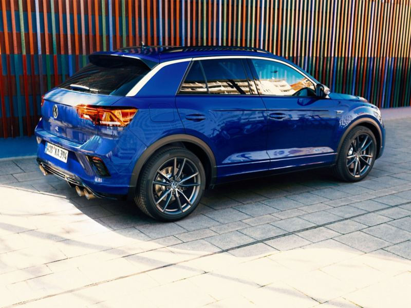 Le T-Roc R launch control