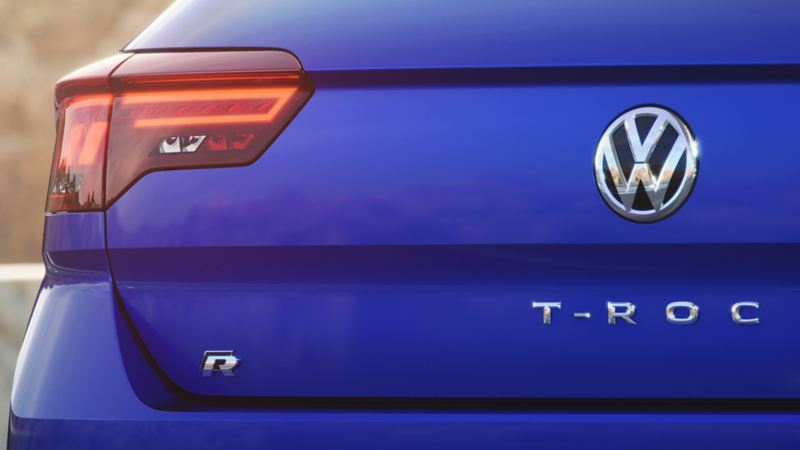 Volkswagen T-Roc R logo hekk