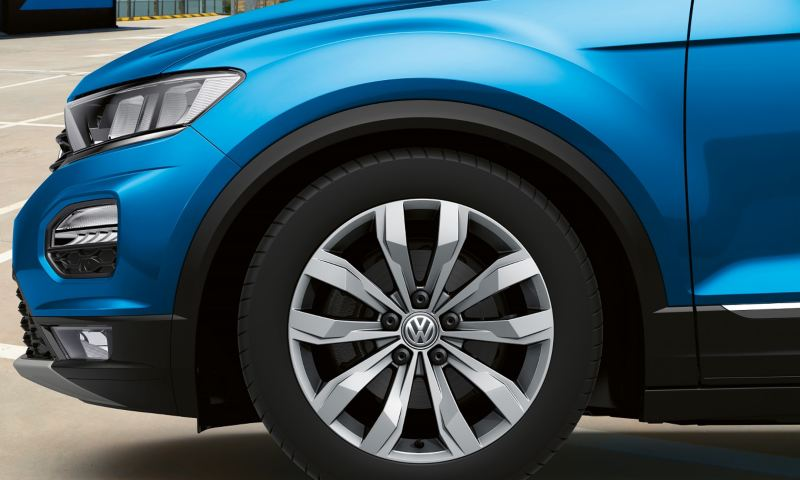 VW T-Roc Cabriolet rim illustration animation