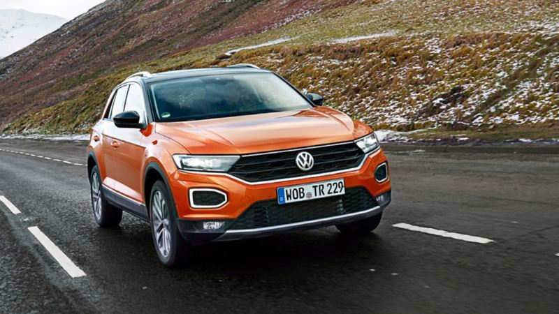 The T-Roc in the Valley