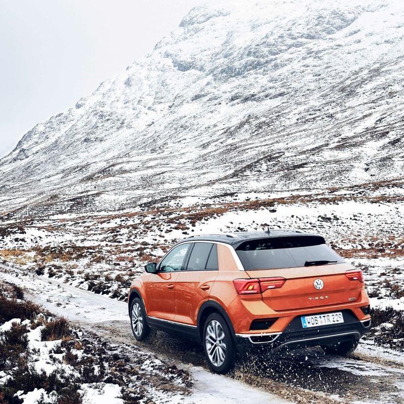 Mit dem T-Roc durch die schottischen Highlands