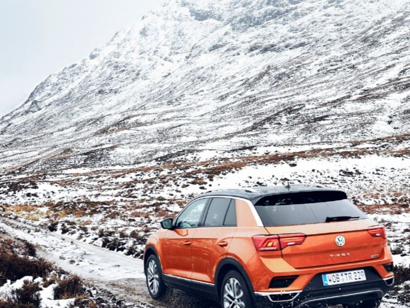 With the T-Roc through the Scottish Highlands
