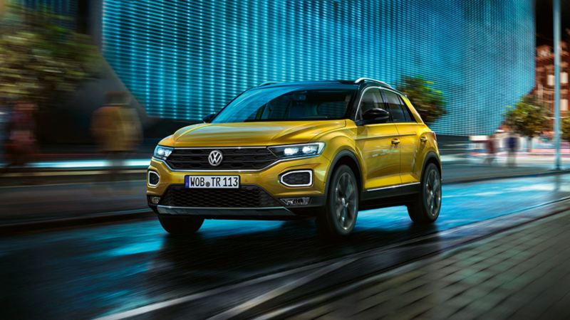 T-Roc: il crossover compatto.