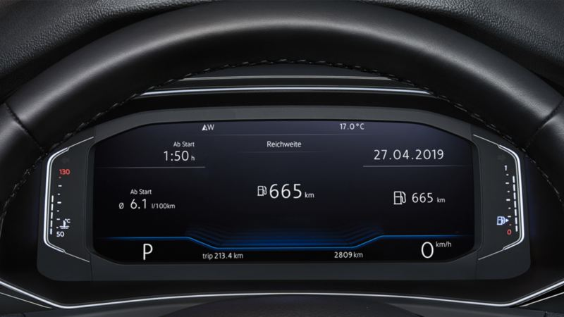 active info display du t-roc