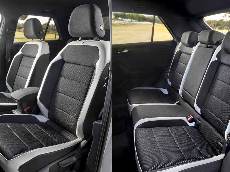 Two-tone seats