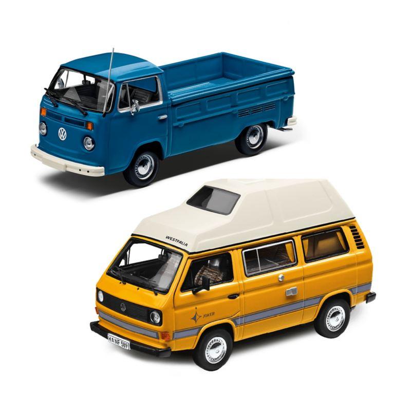 Modellino Volkswagen T2 Pick Up
