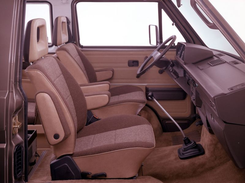 Cockpit da VW Multivan clássica