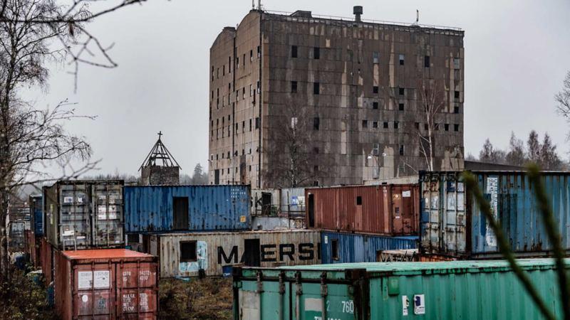 Det gamla sinterverket vid Stråssa gruva