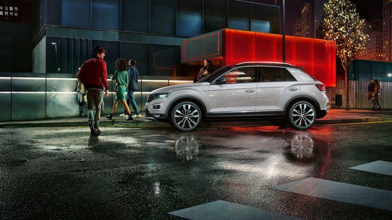 Vista laterale T-Roc Design Line - Volkswagen