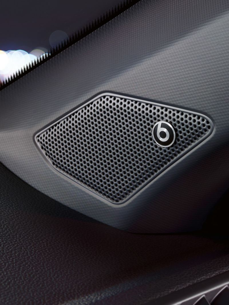 Beats lydsystem i Volkswagen T-Roc SUV