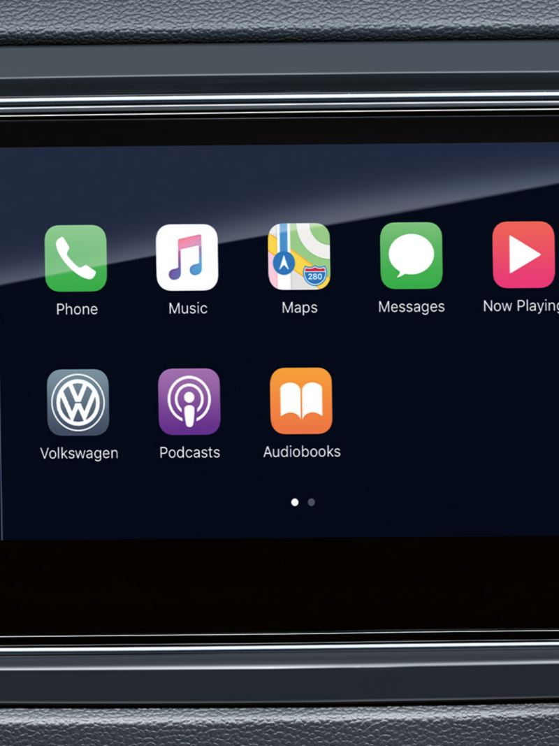 App-Connect Apple CarPlay i Volkswagen T-Roc