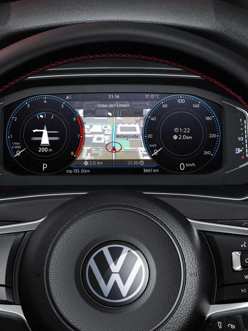 Digital Cockpit i Volkswagen T-Roc