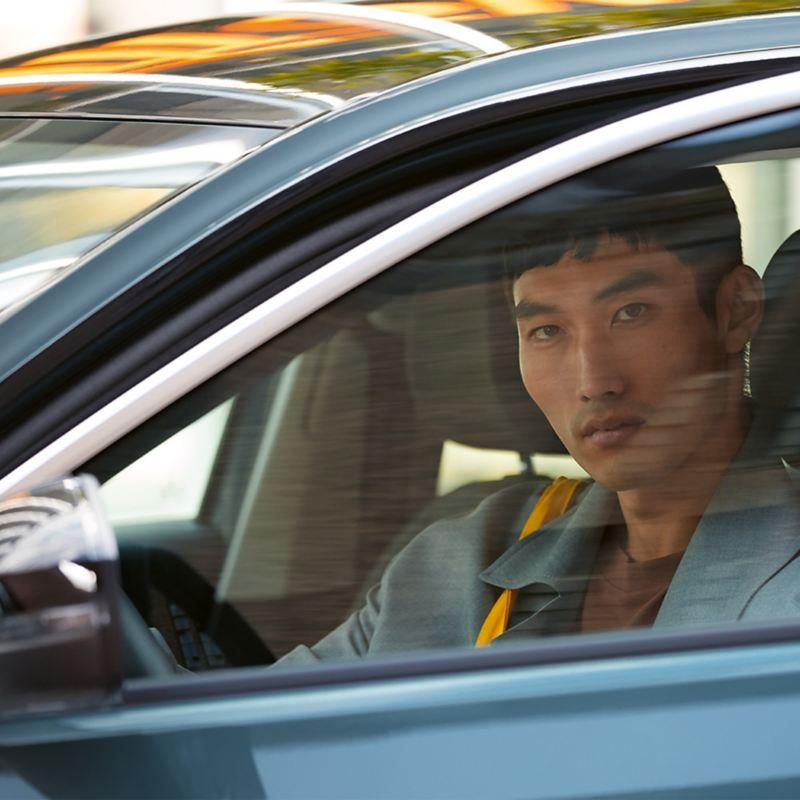 Aktivera Car-Net via infotainmentsystemet i din Volkswagen.
