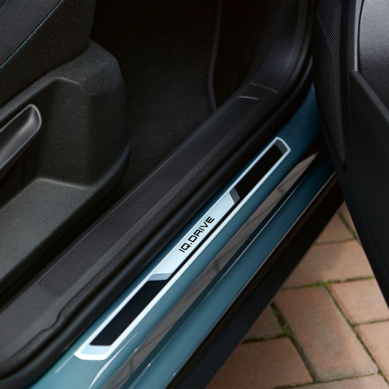 Baguettes de seuil de porte du T-Roc IQ.DRIVE.