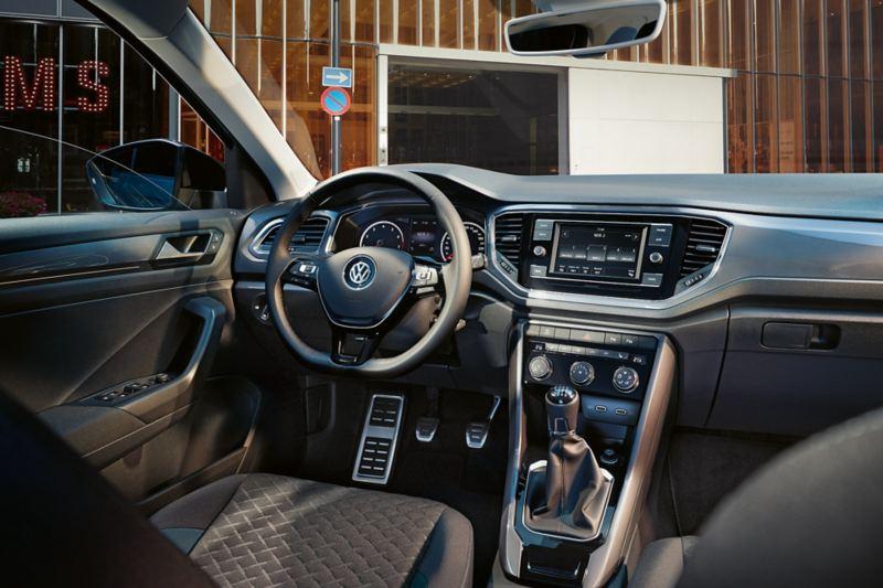 Intérieur du T-Roc IQ.DRIVE