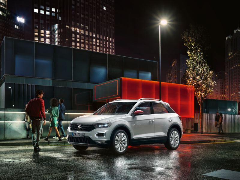 VW T-Roc mit beats Design Paket, Seitenansicht
