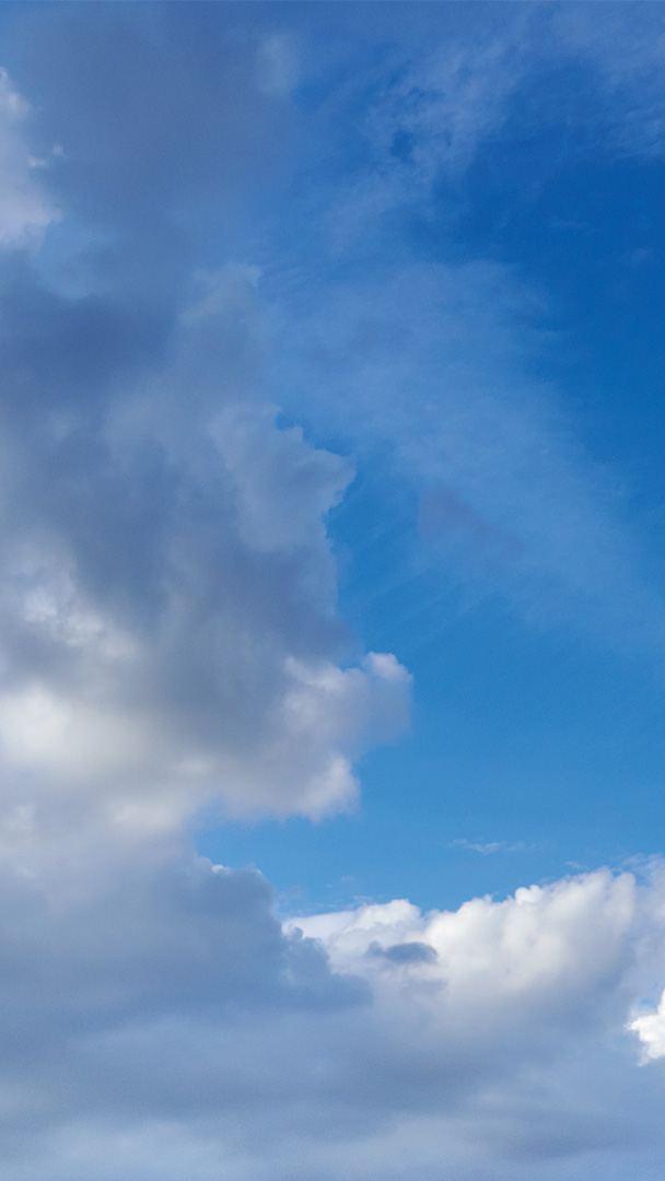 Cielo azzurro.