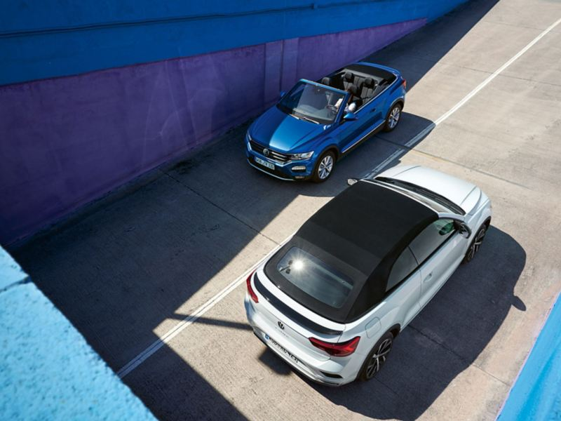 VW T-Roc Cabriolet Style and R-Line Birdview