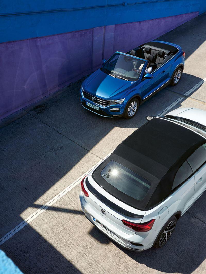 VW T-Roc Cabriolet Style und R-Line Birdview