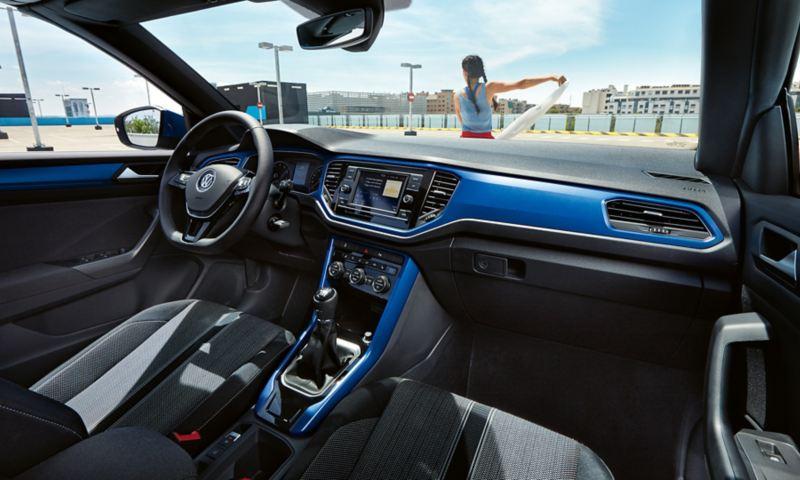 VW T-Roc Cabriolet interni