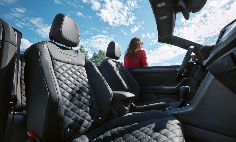VW T-Roc Cabriolet R-Line seats