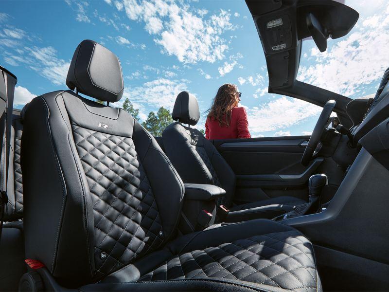 VW T-Roc Cabriolet R-Line Sitze