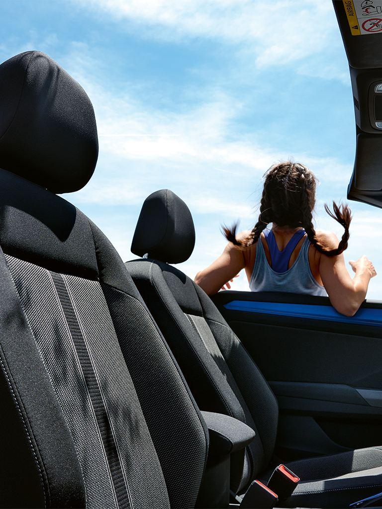 VW T-Roc Cabriolet Style seats