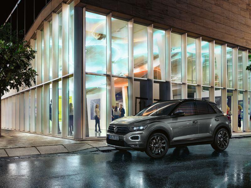 VW T-Roc mit Black Style Design Paket, Seitenansicht