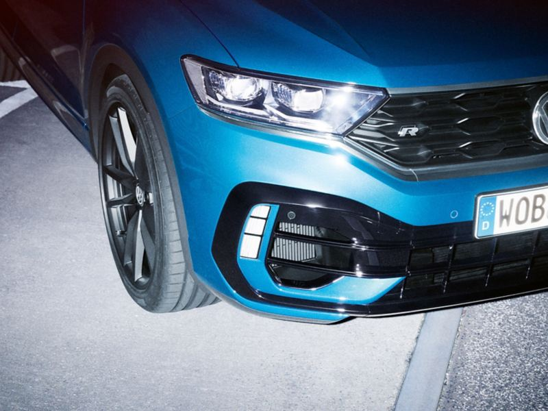 VW T-Roc R Front detail view