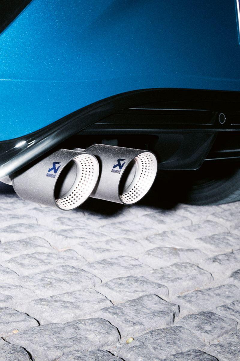 T-Roc Akrapovic exhaust system
