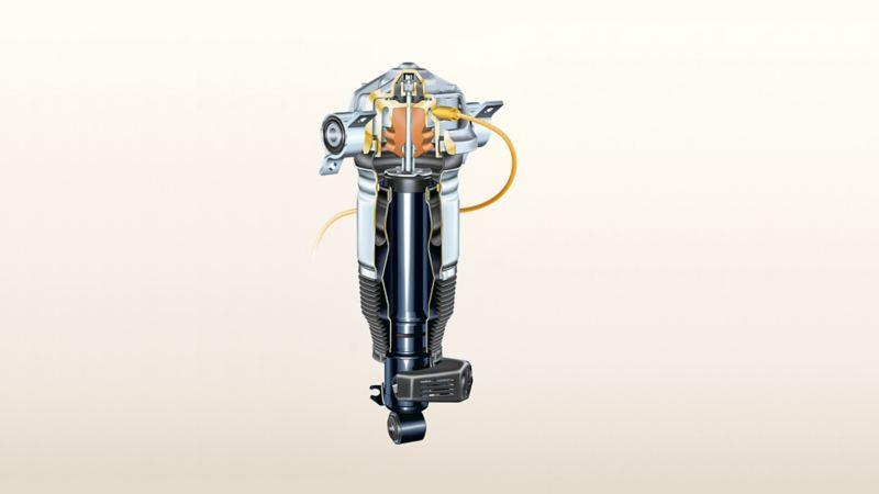 Abbildung einer Volkswagen Luftfederung