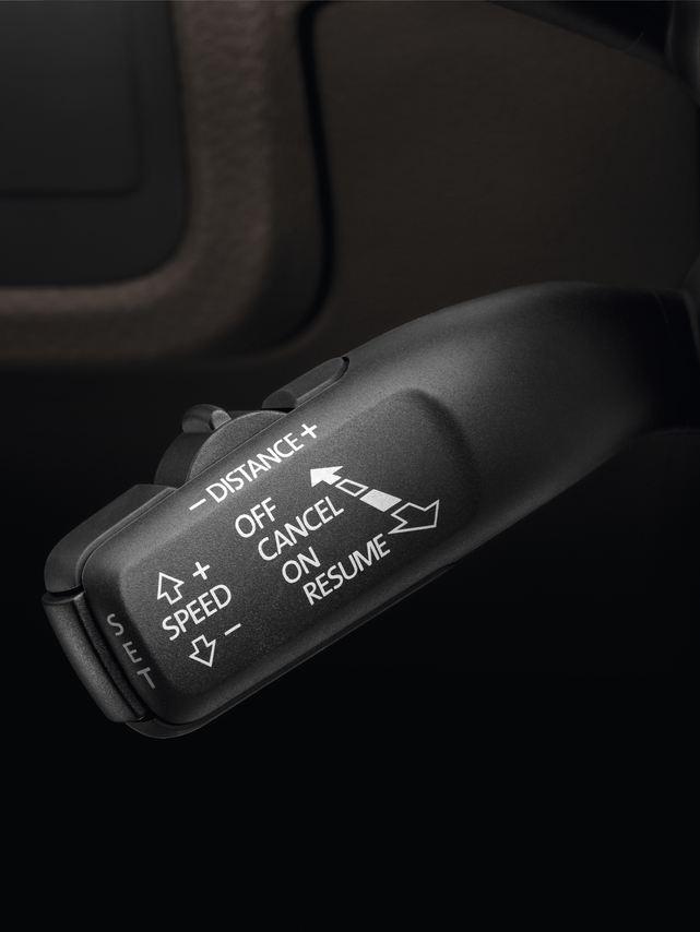 Régulateur adaptatif de la vitesse ACC avec fonction d'anticipation de l'Arteon