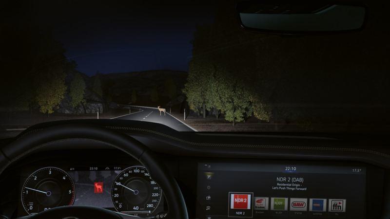 Volkswagen Night Vision førerassistentsystem