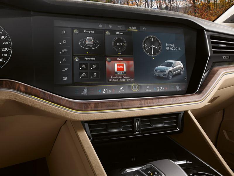 Navigasjon Discover Premium i Volkswagen VW Touareg