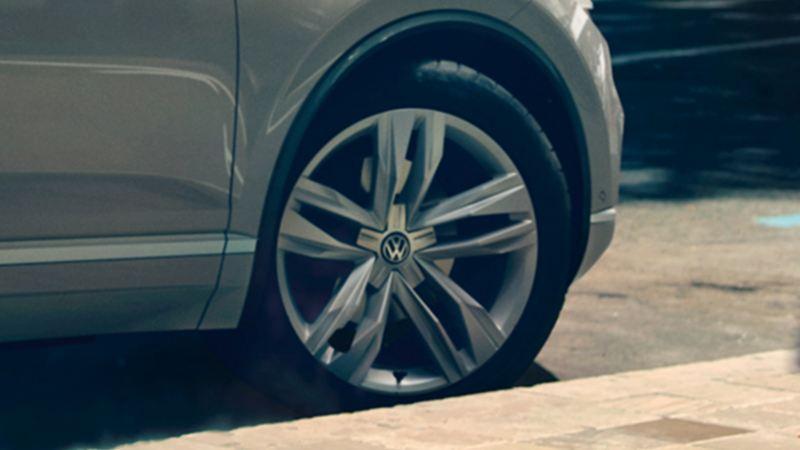 """Felge """"Bogvota"""" des VW Touareg One Million"""