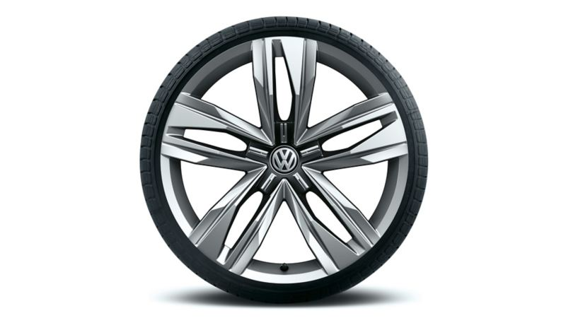 "Cut out rim ""Bogota"" of the VW Touareg One Million"