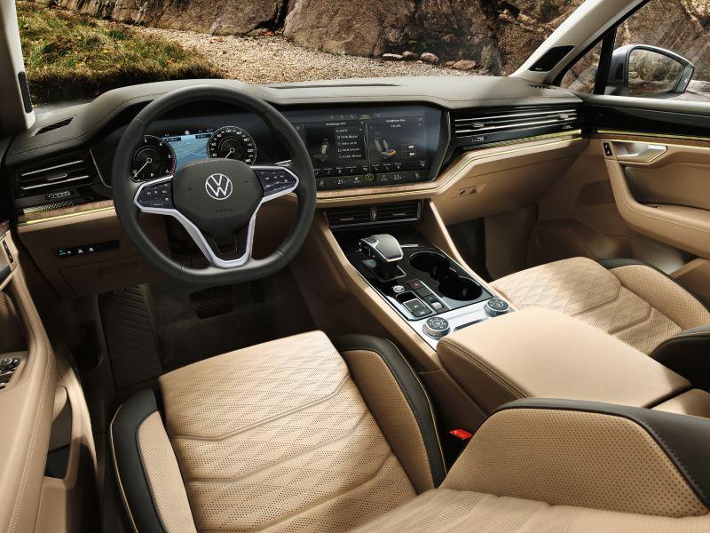 Interiør og dekor i Volkswagen Touareg SUV