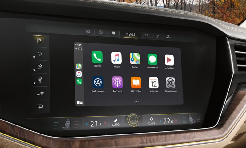 Display of 'Discover Premium' navigation system