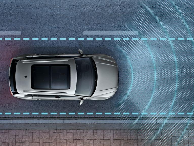 車道維持及偏移警示系統(含修正輔助功能)