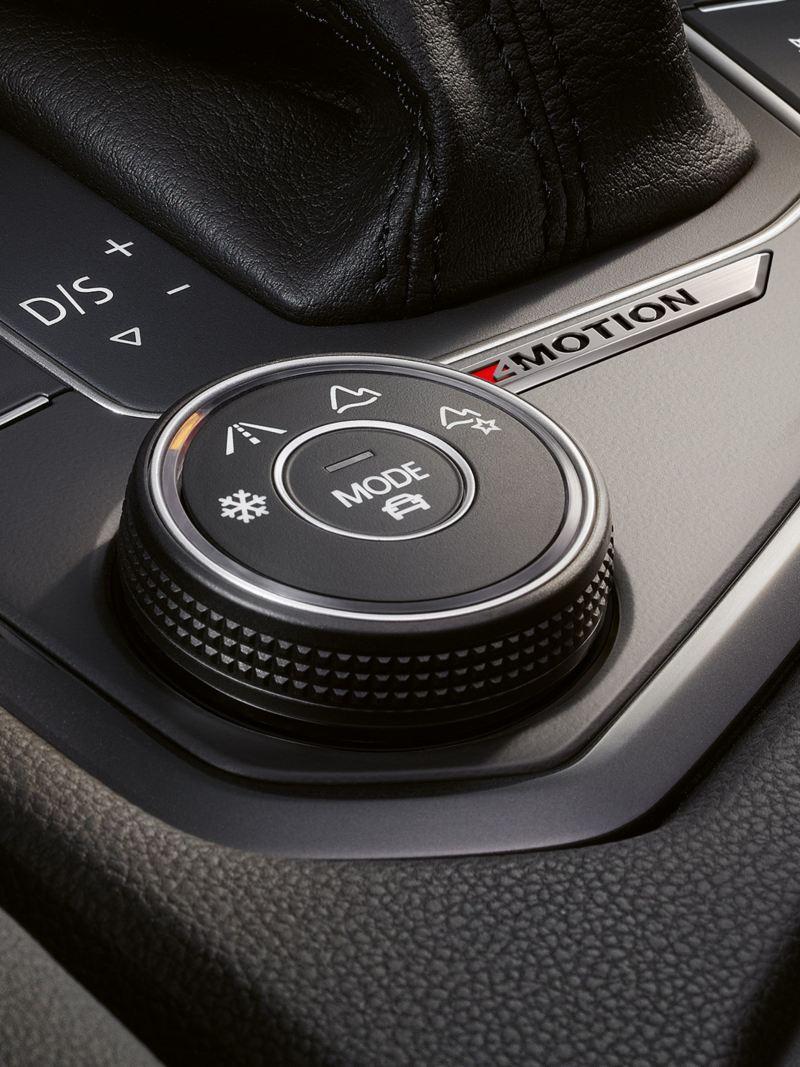 selezione del profilo di guida elettronico SUV Volkswagen Tiguan