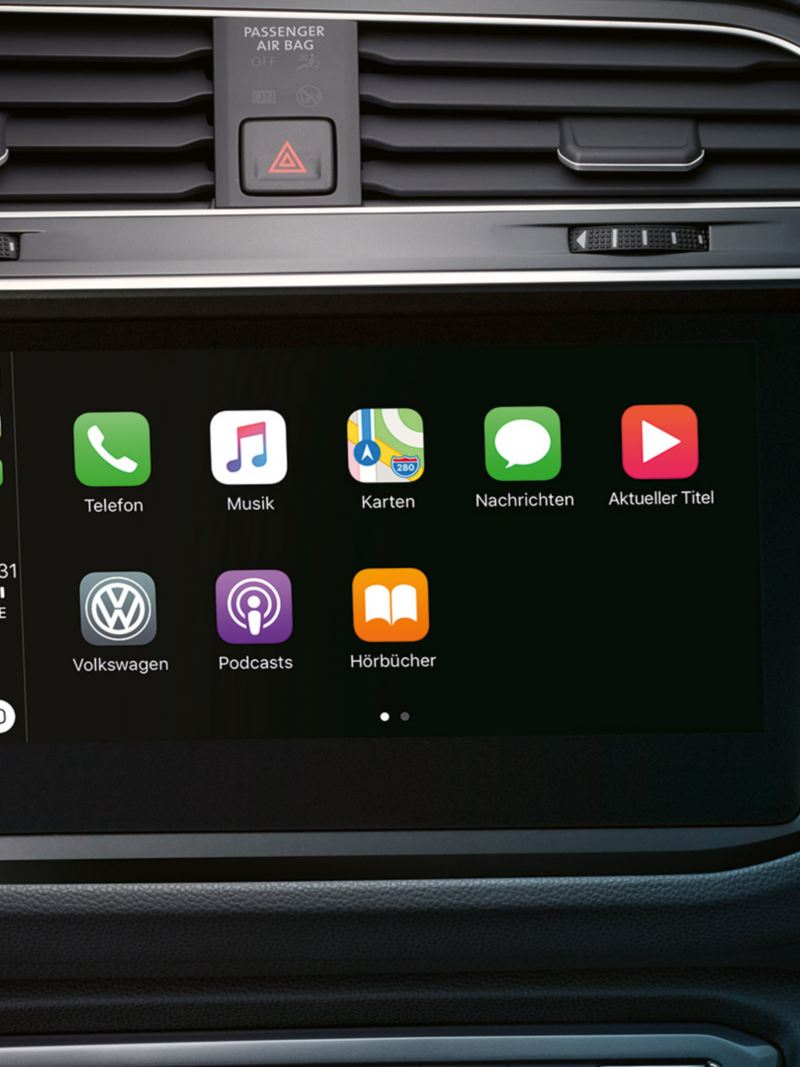 Apple CarPlay i Volkswagen Tiguan
