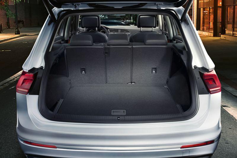 Tiguan boot interior space