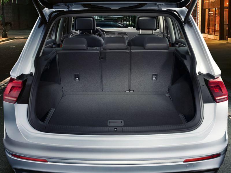 χώρος αποσκευών στο Volkswagen Tiguan