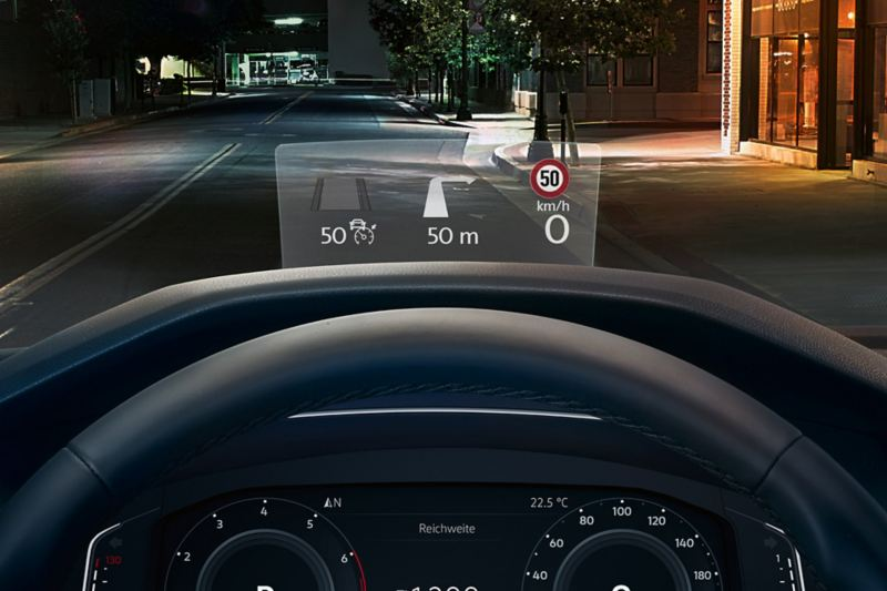 VW Head-up-Display (HUD)